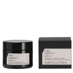 Skin regimen nuit detox